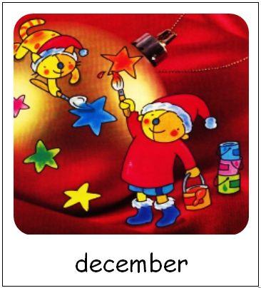 December | Pompom maanden