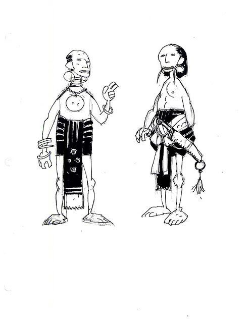 Disney Atlantis Character Design : Best images about mike mignola on pinterest disney