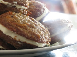 Inside-Out Carrot Cake Cookies   Food Glorious Food!   Pinterest