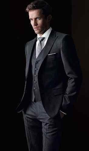 Classic Suit // Andrew Cooper (model) #vogueattiremensedition
