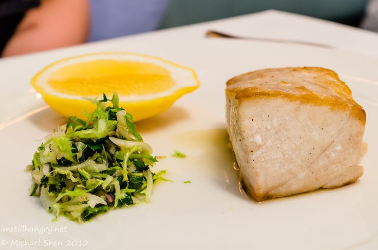 Icebergs - Yellow Fin Tuna served with Sorrel, Parsley, Lemon Butter Sauce or Roasted Tomato   #imstillhungry #sydneyfood