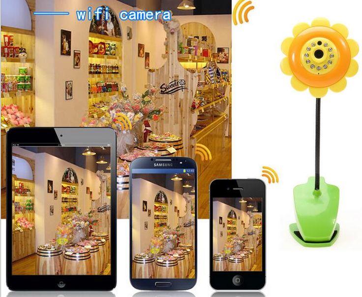 ==> [Free Shipping] Buy Best 1MP Sunflower Wireless Baby Monitor Vedio 720P Baby monitor Nanny Wifi IR Night Vision Sleep Monitor Camera Audio Mini Camera Online with LOWEST Price | 32764884128