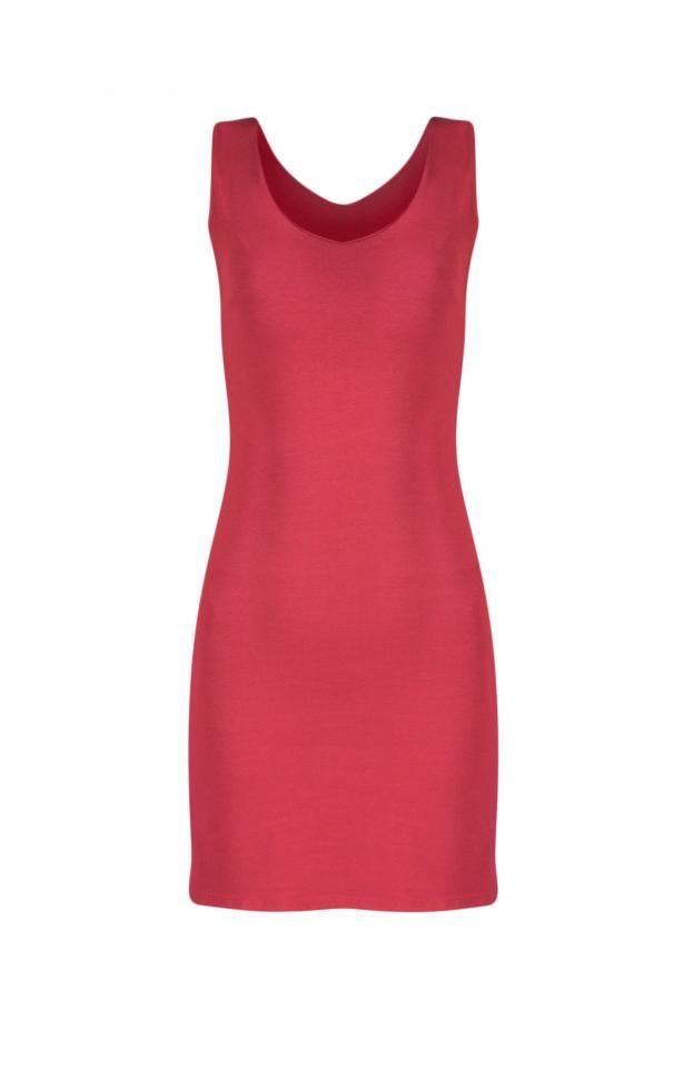 Γυναικείο φόρεμα ραντέ μονόχρωμο | Φορέματα - Φορέματα 2016 -