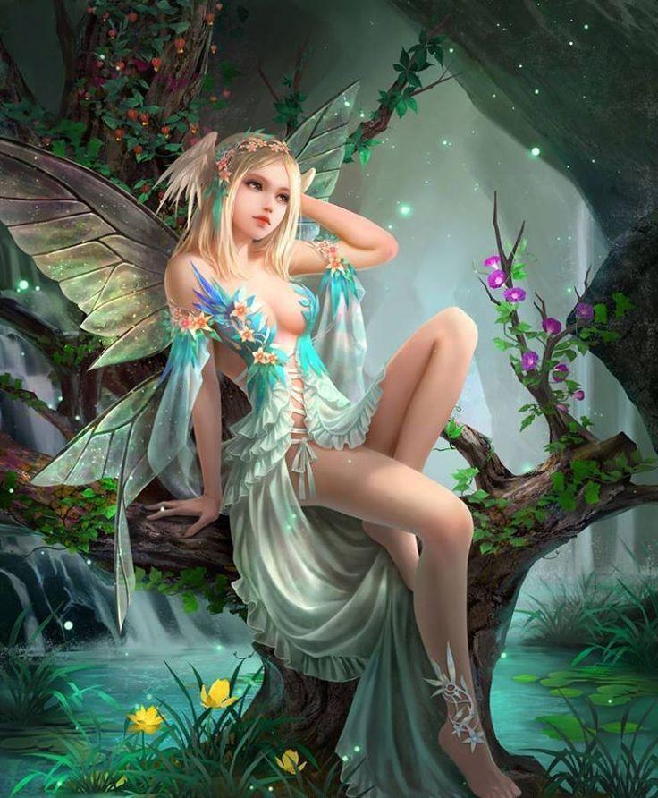 Картинки фэнтези феи