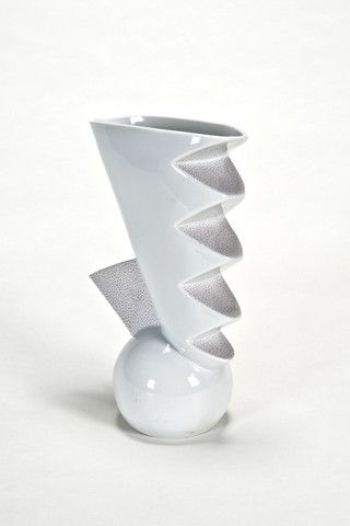 the modern archive - Titicaca Vase by Matteo Thun for Memphis