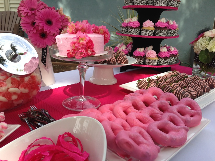 A Candy And Dessert Bar For A Baby Shower. Patience And Creativity Prove  True For