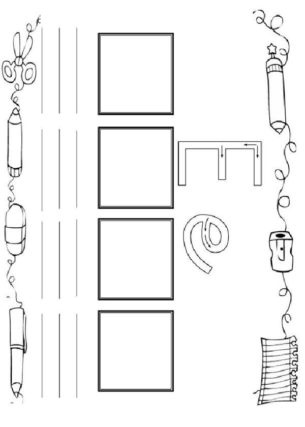 Activités imprimables Pratiquer l'écriture de l'alphabet . http://www.activitesprescolaire.pequescuela.com/activites-prescolaire-imprimer-lecture-ecriture5.html