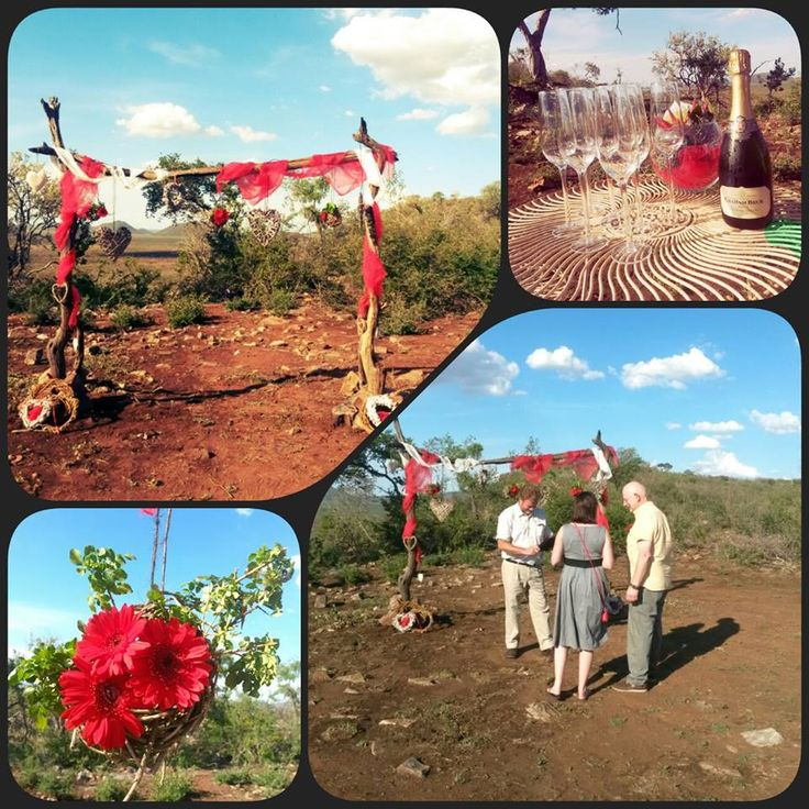 Getting Married in the middle of Africa, What an incredible bush wedding this was!