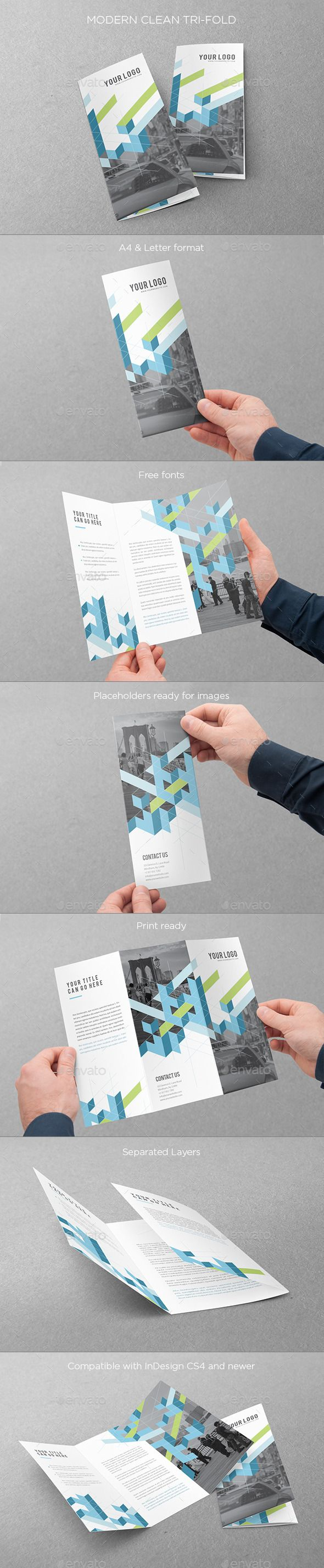 16 best Template - Trifold Brochure 8.5x11 images on Pinterest ...