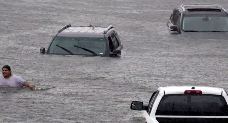 Up To 1 Million Cars In Texas May Have Been Damaged By Hurricane Harvey