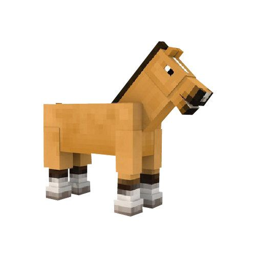 Minecraft Horse Vinyl Wall Decal by WilsonGraphics on Etsy, $2.25