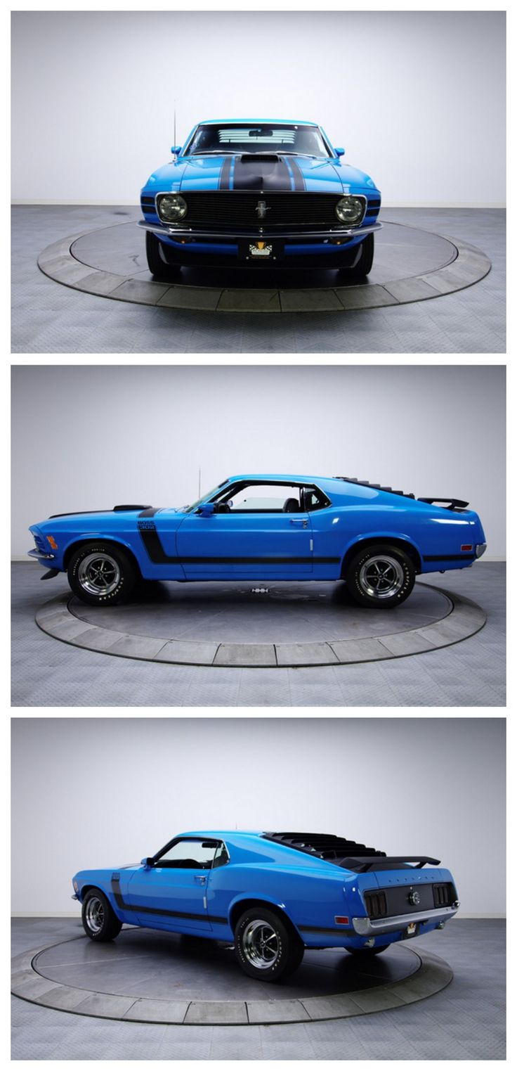 A RARE thoroughbred Ford Mustang Boss 302 #MusclecarMonday