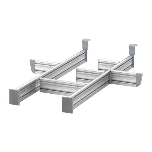 IKEA - RATIONELL, Séparateur tiroir élément base, Personnaliser l'espace de rangement grâce aux séparateurs réglables.