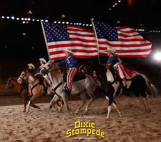 Dolly Parton S Dixie Stampede Dinner Attraction Is An