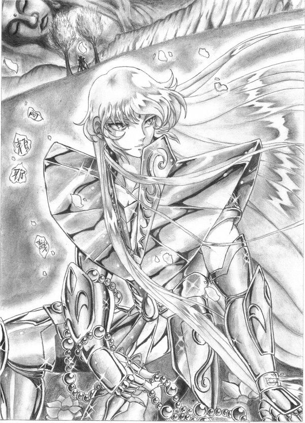 One of the Gold Saints I´ll be always be in love with Completely amazed with this deviation!!! I looks better than the original !! This is a vector. Saint Seiya is copyright of Masami Kurumada...