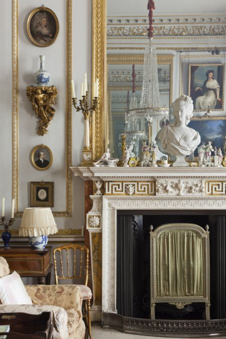 Part of the Drawing Room at Hatchlands. ©National Trust Images/James Dobson