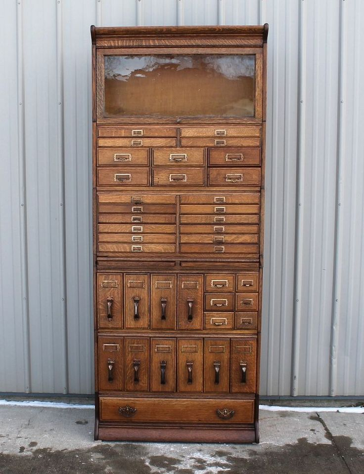 not for me but wowza. great looking piece! VERY VERY RARE 39 DRAWER GUNN STACKING OAK BOOKCASE FILE CABINET SYSTEM #RARE39DRAWERFILECABINETSYSTEM #GUNNBOOKCASECO