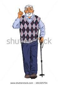 Image result for old people sketch