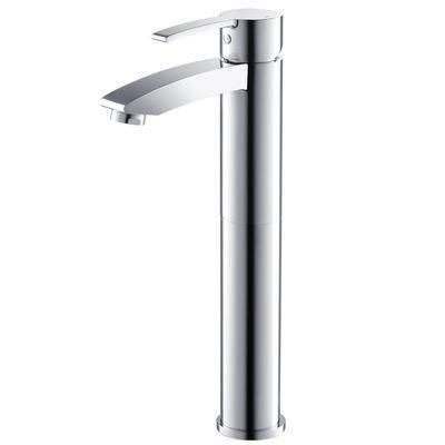 $230 Fresca - Livenza Single Hole Vessel Mount Bathroom Vanity Faucet - Chrome - FFT3112CH - Home Depot Canada