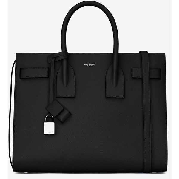 Saint Laurent Classic Small Sac De Jour Bag (£1,850) ❤ liked on Polyvore featuring bags, handbags, shoulder bags, sacs, saint laurent, ysl, embossed leather purse, leather shoulder bag, real leather purses and genuine leather handbags