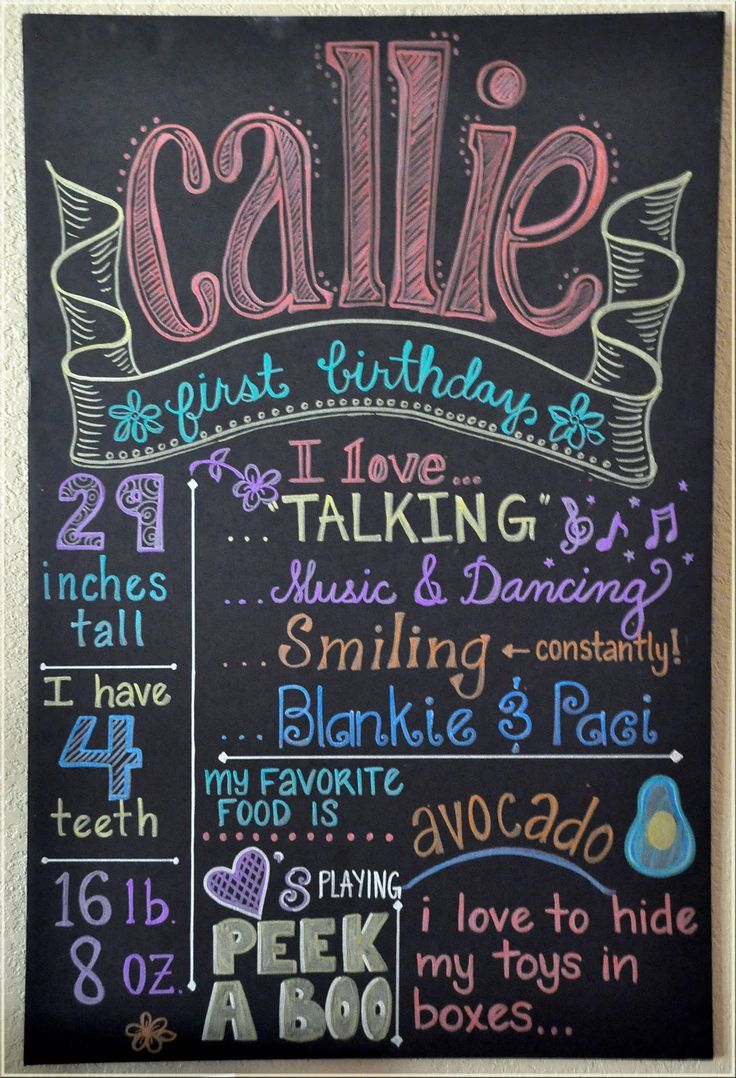 Keeping Up With The Morgans: Callie's Pink & Chalkboard Extravaganza