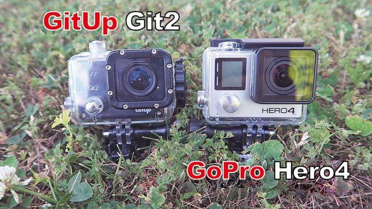 Actioncam GitUp Git Pro und GoPro Hero 4
