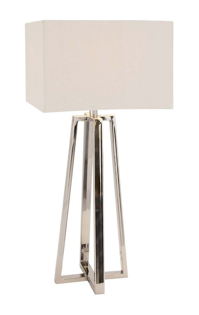 Contemporary Stainless Steel Table Lamp Tablelamps