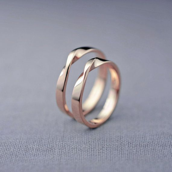 Our mobius ring is inspired by a mathematical design that translates beautifully
