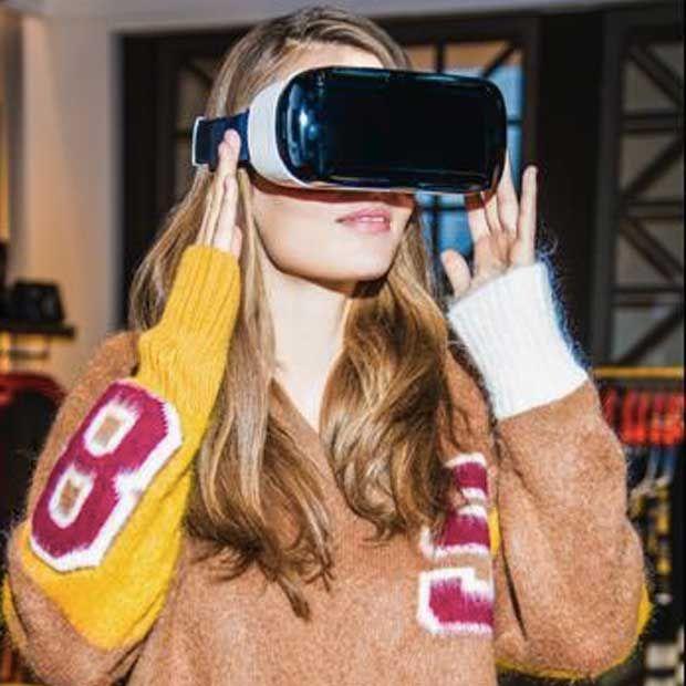 La realtà virtuale arriva nei negozi di abbigliamento Tommy Hilfiger