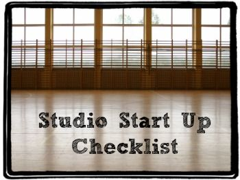 Dance Studio Start Up Checklist | DanceStudioOwner.com