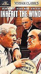 Inherit The Wind (VHS, 1991, Vintage Classics) Spencer Tracy