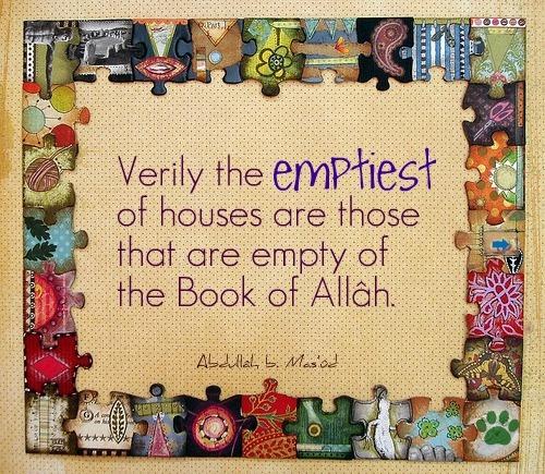 Read Qur'an.