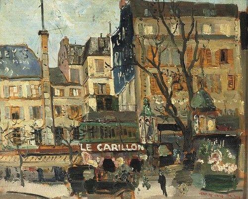 A street scene in Paris / by Germ de Jong