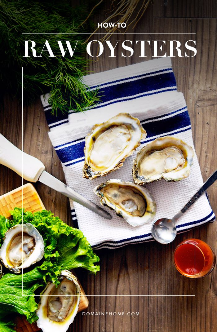 5 important steps to serving raw oysters like a professional.