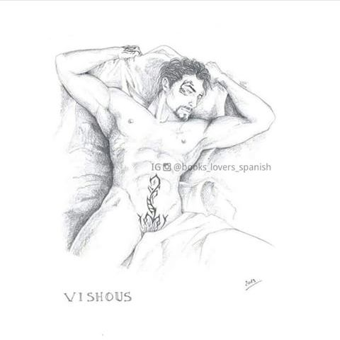 This drawing of Vishous is killing me omg    ... - I'm not o-fucking-kay!