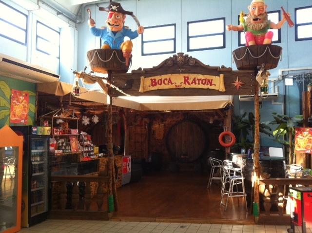 """Play Mart - Area ristorazione e bar a tema """"Pirati"""""""