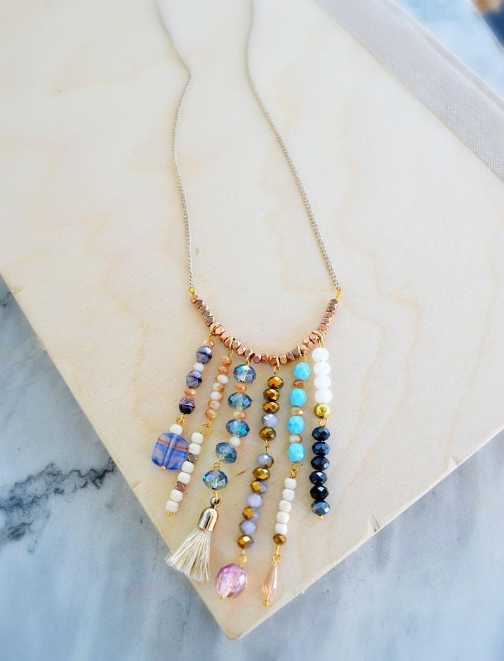 Making Jewelry from Recycled Products | AllFreeJewelryMaking.com #jewelrynecklaces