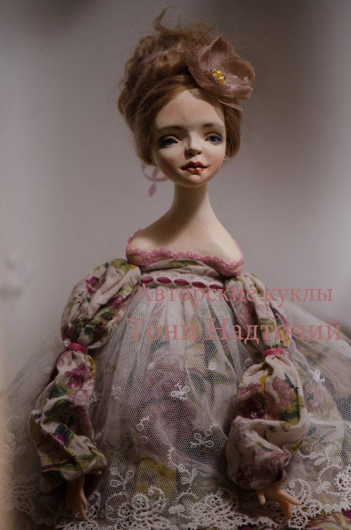 Art doll Juliette by DollsTonyNadtochiy on Etsy