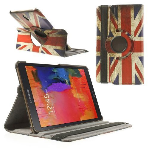 Mesh - Samsung Galaxy Tab S 8.4 Hoes - Rotatie Cover Britse Vlag | Shop4TabletHoes