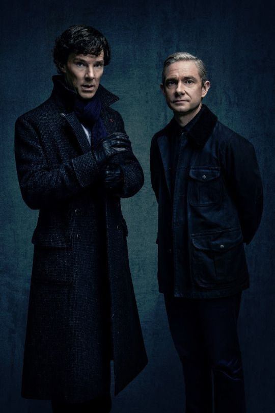 John and Sherlock looking AWESOME