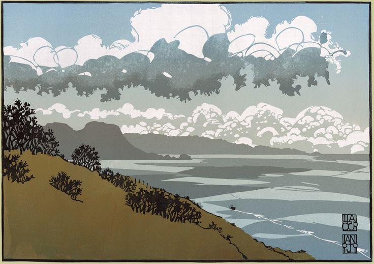 Big Cloud over Cwmtydu: Ian Phillips