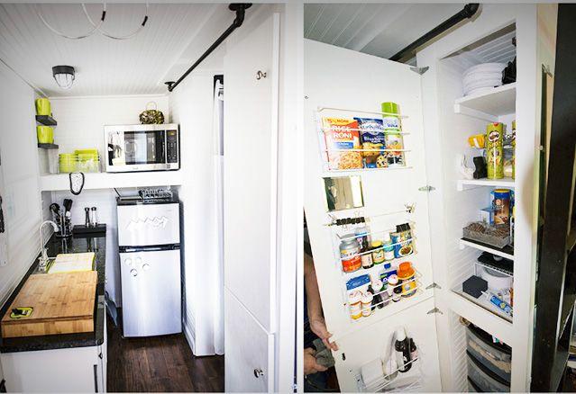 tiny-home cuisine de mini-maison