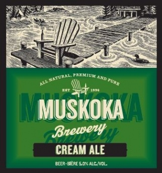 Muskoka Brewery Cream Ale  13.10(x6) Beer Store.