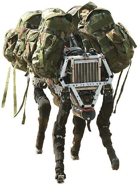 Big Dog by Boston Dynamics