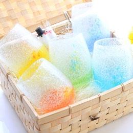 Ryukyu Glass set (6,800yen)