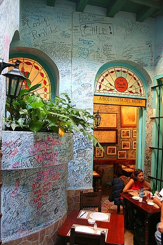 La Bodeguita del Medio by Labernalesa, via Flickr