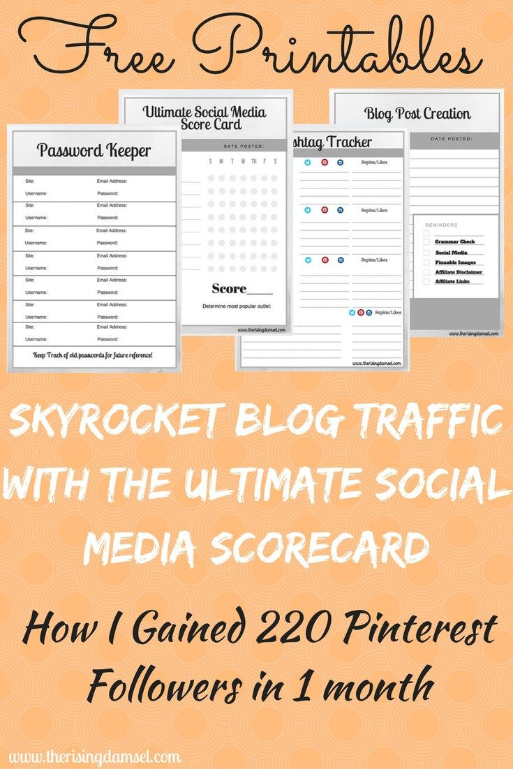 Watch our traffic explode through the power of hashtags. Use free printables to track and create the perfect hashtags for your blog to gain massive followers! The Rising Damsel #freeprintables #printables #followers #ultimatesocialmedia #guide #hashtags