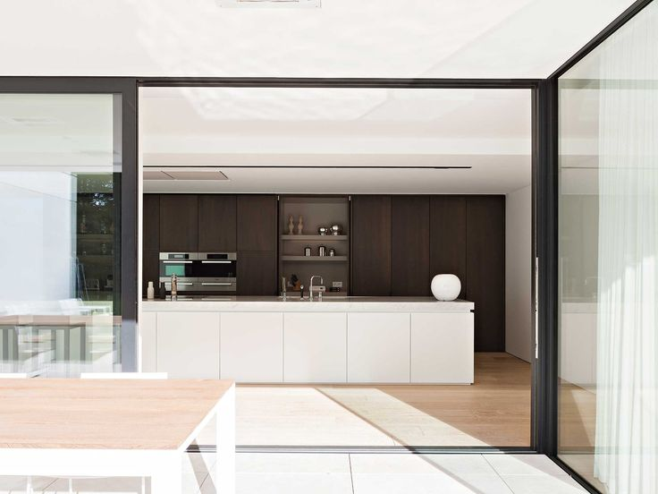Obumex | Contemporary Kitchen | White | Kitchen Island | Design