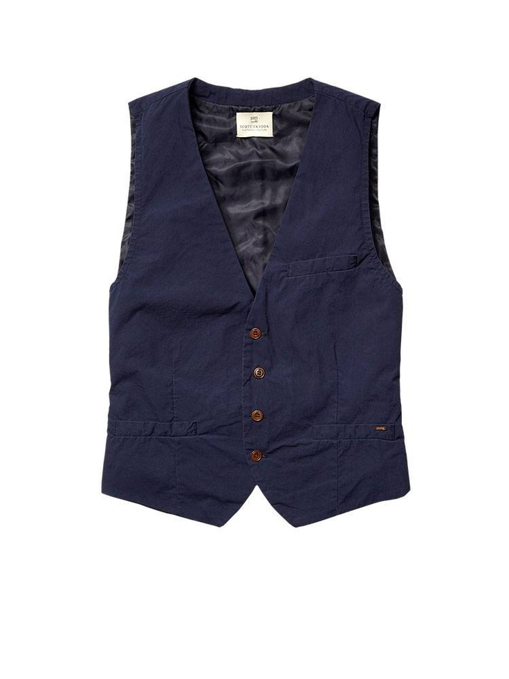 classic cotton poplin gilet gilets official scotch soda newsies pinterest scotch. Black Bedroom Furniture Sets. Home Design Ideas