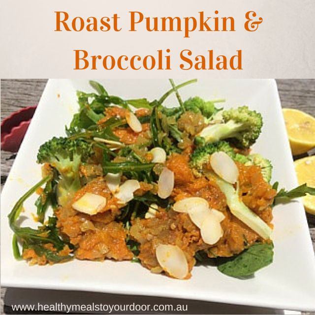 Who else loves a good hearty salad? This is our Roast Pumpkin & Broccoli Salad - delicious and satisfying.  Remember that all our plans can be cancelled at any time, no lock in contracts. This gives you the freedom to try our meals out and see if you like them!  Order at www.healthymealstoyourdoor.com.au  #Brisbane #vegan #healthymeals #goldcoast